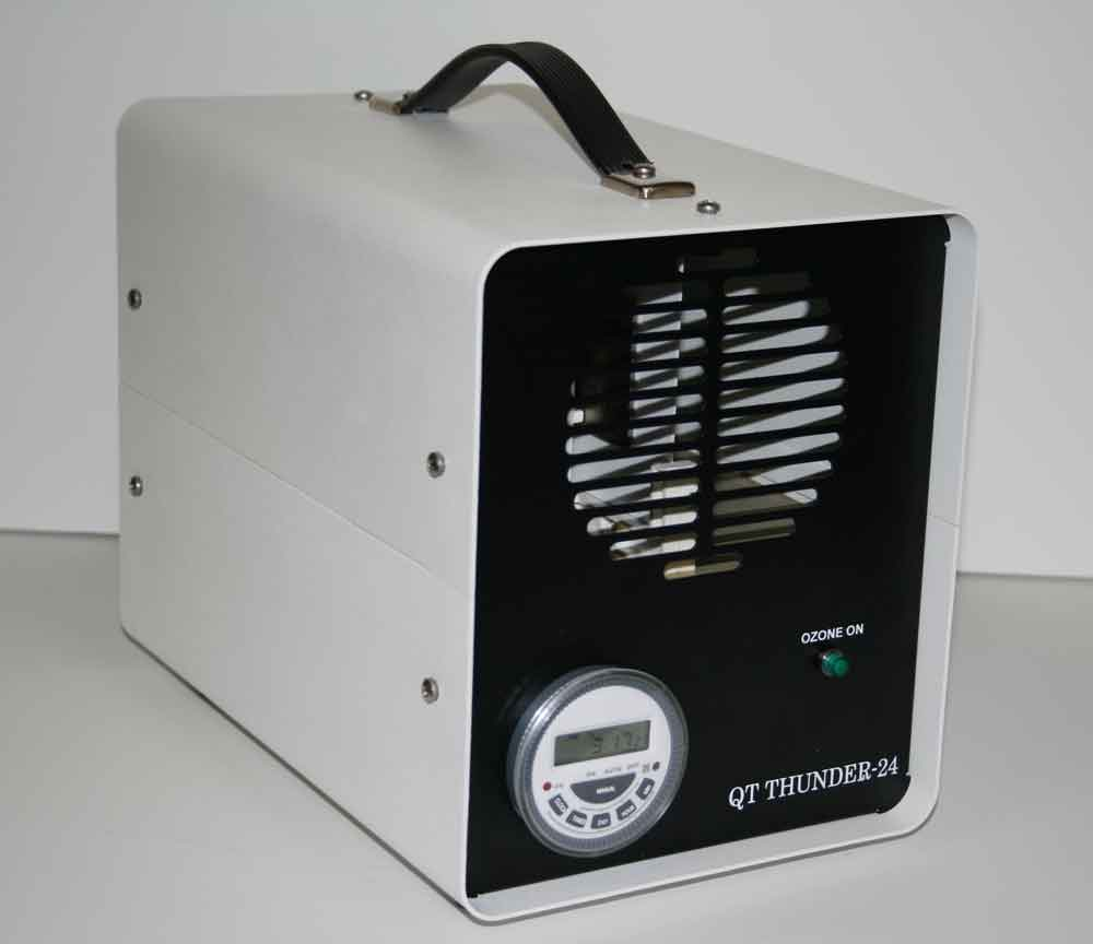 ozone generator odor removal