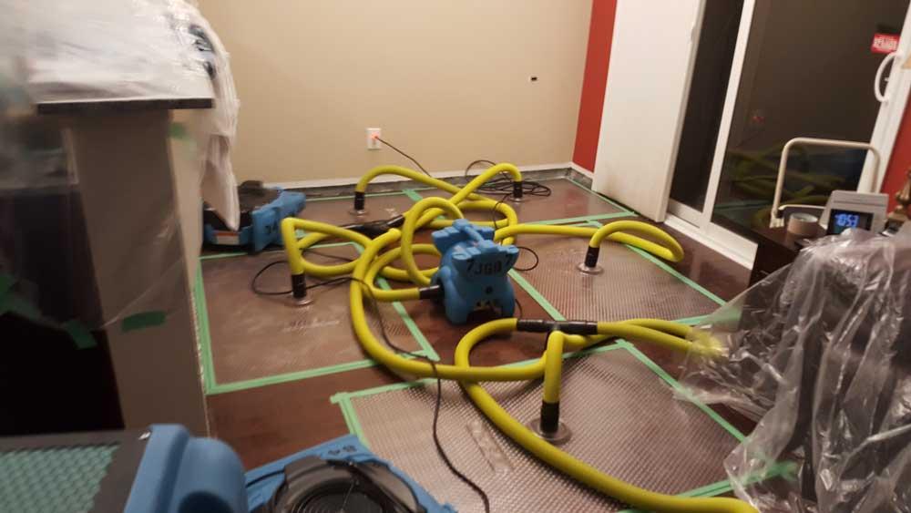 flooded basement restoratiom