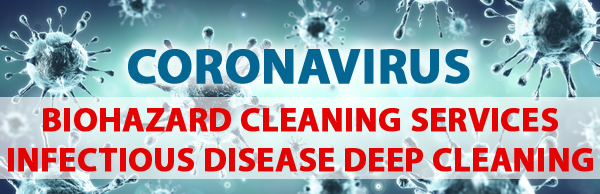 coronavirus biohazard cleaning