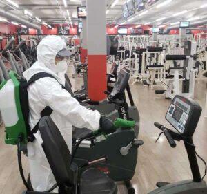 coronavirus deep cleaning biohazard cleanup