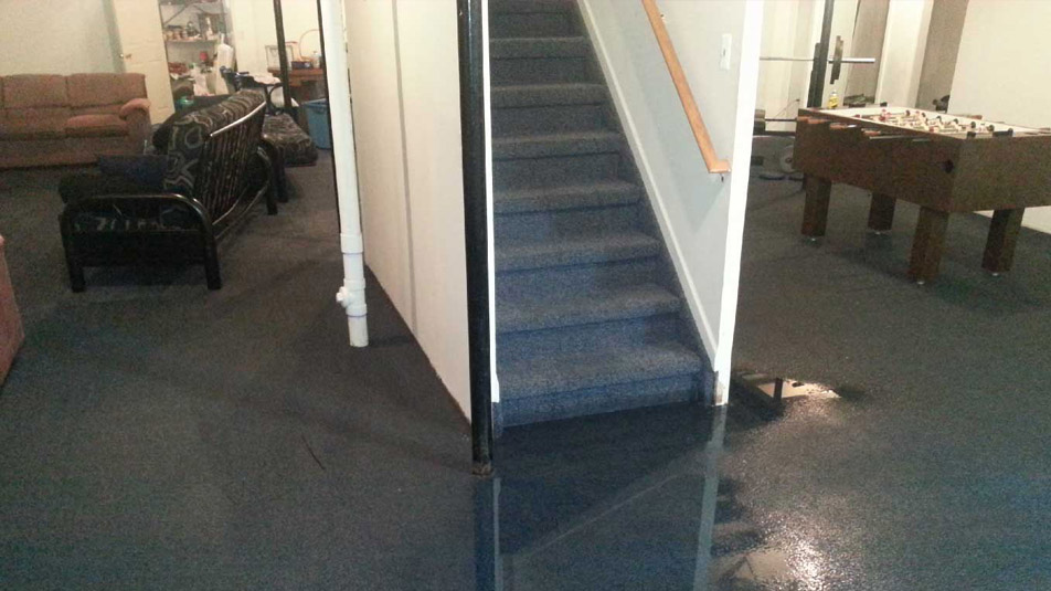 flooded baseement cleanup toronto